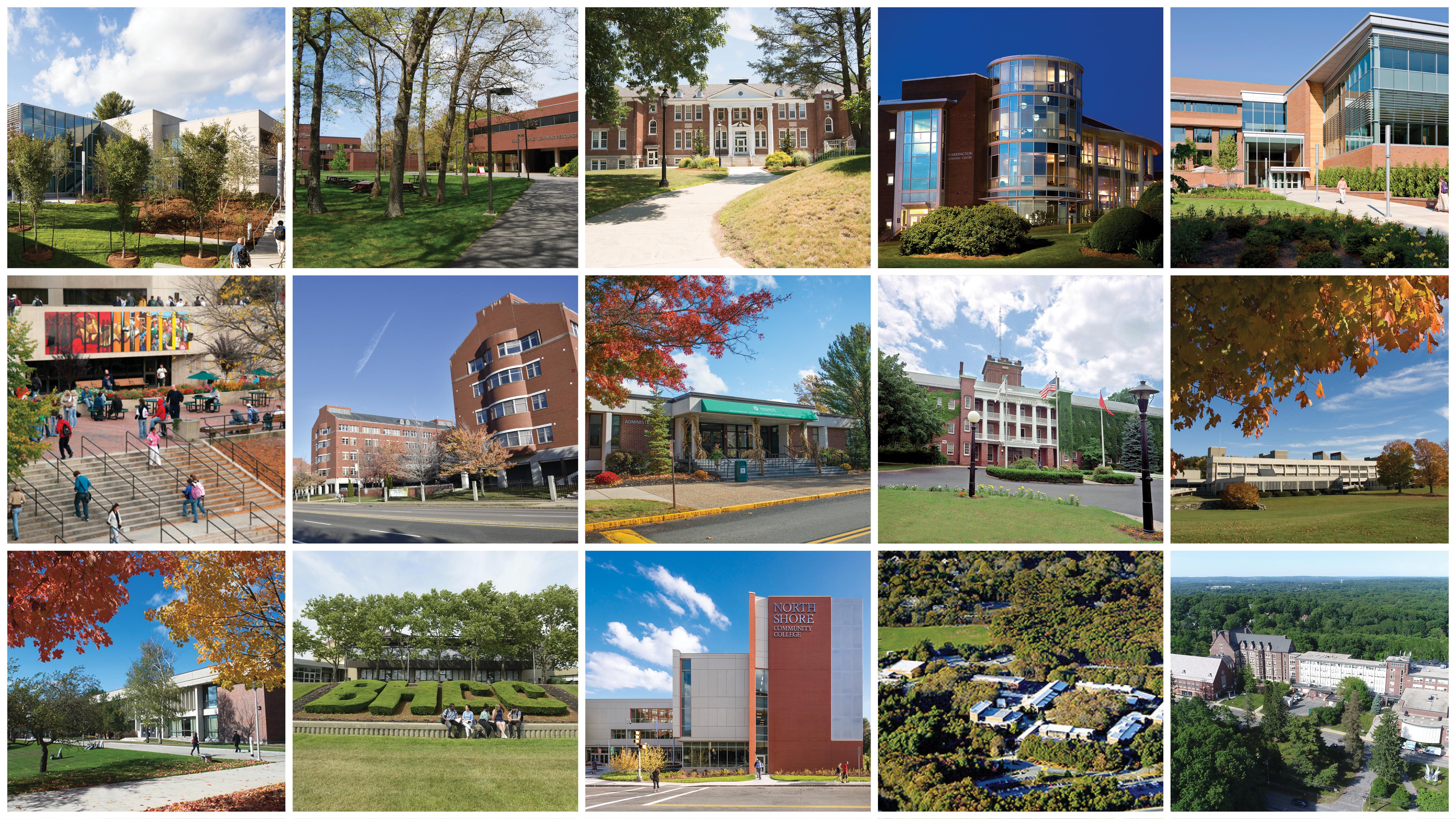 15 Massachusetts Community Colleges